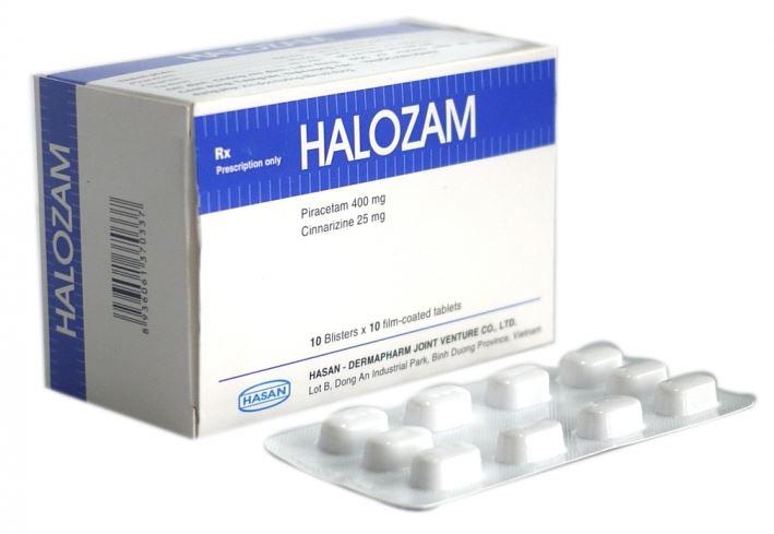 Thuốc halozam 400 là thuốc gì? có tác dụng gì? giá bao nhiêu tiền?