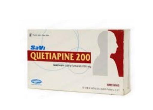 Thuốc SaVi Quetiapine 25 là thuốc gì? có tác dụng gì? giá bao nhiêu tiền?