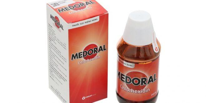 Nước súc miệng họng Medoral có tác dụng gì? giá bao nhiêu tiền?