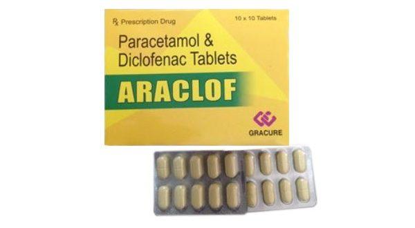 Thuốc Araclof Tablet 50 là thuốc gì? có tác dụng gì? giá bao nhiêu tiền?
