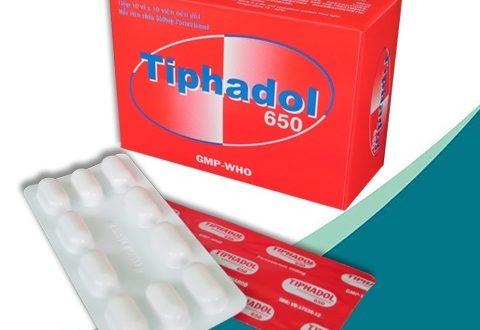 Thuốc tiphadol 650 là thuốc gì? có tác dụng gì? giá bao nhiêu tiền?