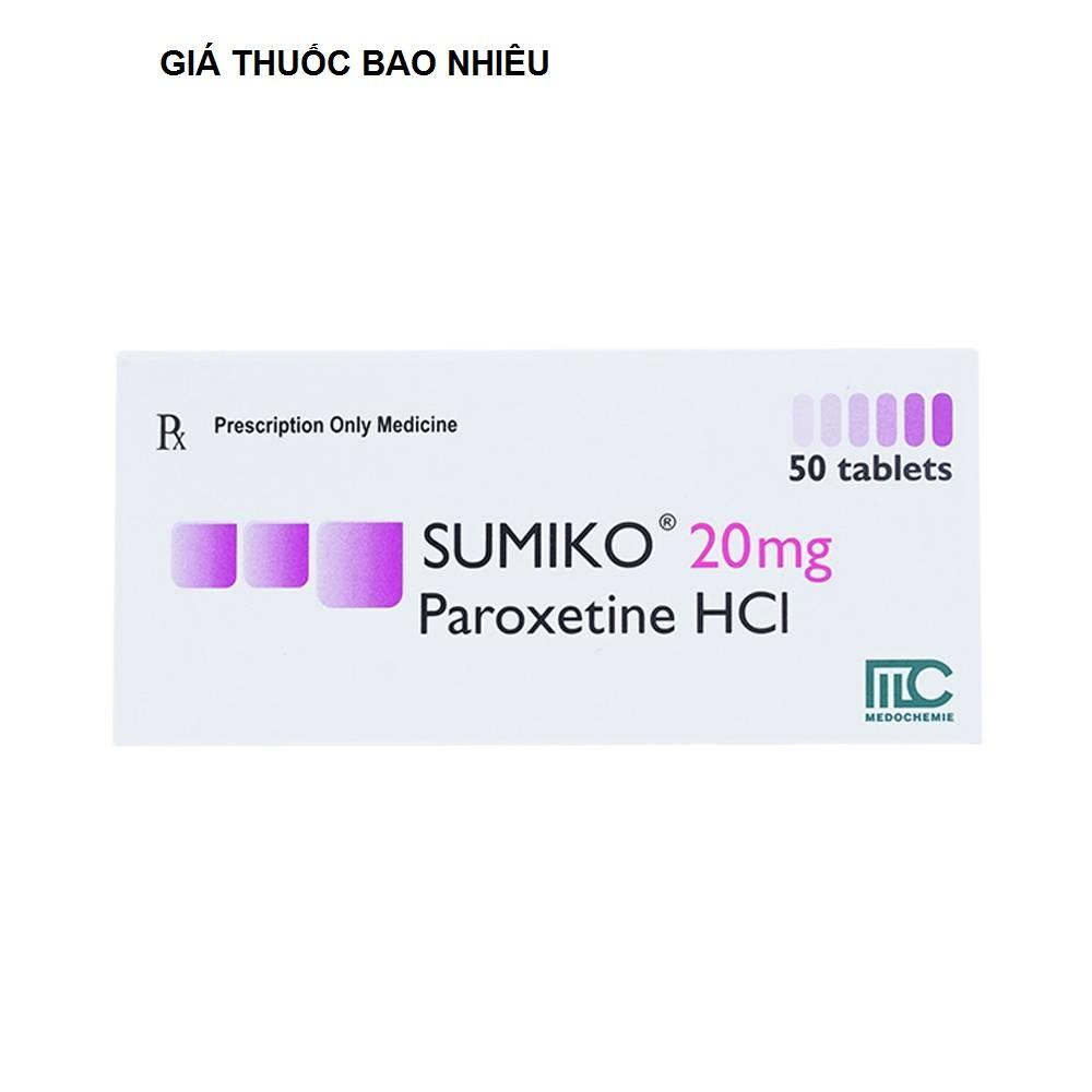 Thuốc sumiko 20 là thuốc gì? có tác dụng gì? giá bao nhiêu tiền?