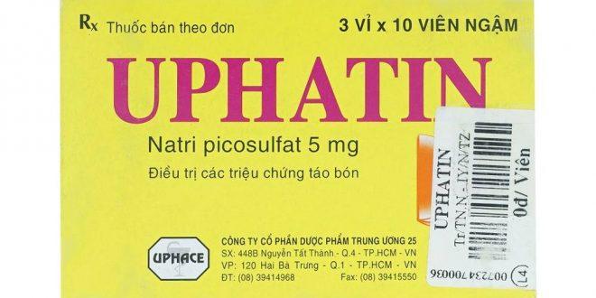 Thuốc uphatin 5 là thuốc gì? có tác dụng gì? giá bao nhiêu tiền?