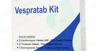 Thuốc vespratab kit là thuốc gì? có tác dụng gì? giá bao nhiêu tiền?