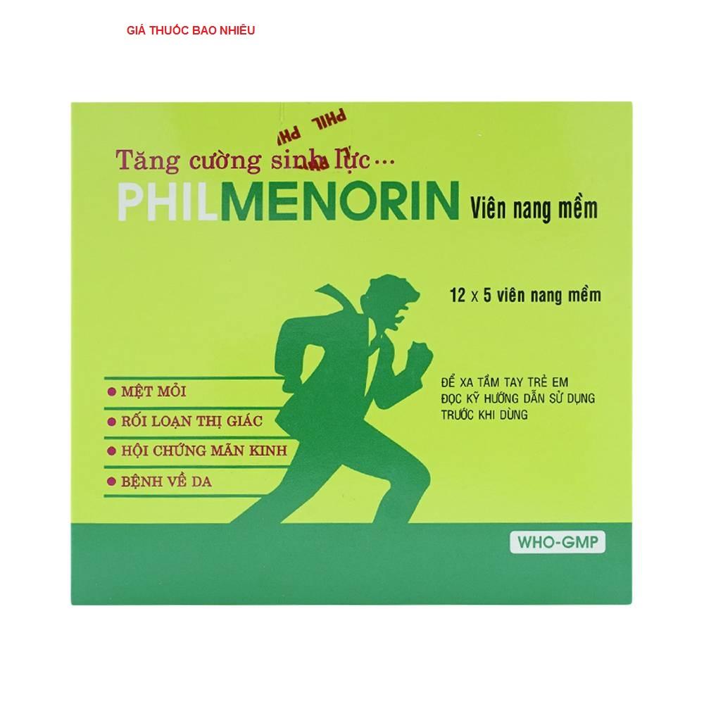 Thuốc philmenorin là thuốc gì? có tác dụng gì? giá bao nhiêu tiền?