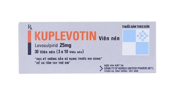 Thuốc kuplevotin 25 là thuốc gì? có tác dụng gì? giá bao nhiêu tiền?