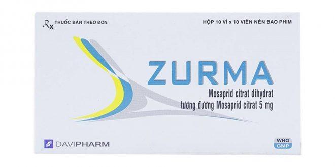 Thuốc zurma 5 là thuốc gì? có tác dụng gì? giá bao nhiêu tiền?
