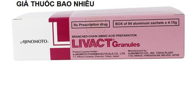 Thuốc Livact Granules 4.15g là thuốc gì? có tác dụng gì? giá bao nhiêu tiền?