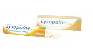 Thuốc lysopaine gold là thuốc gì? có tác dụng gì? giá bao nhiêu tiền?