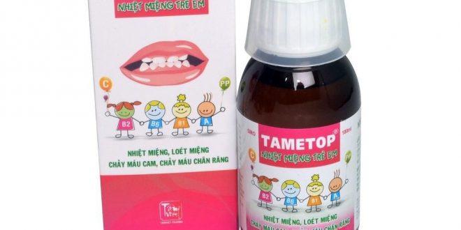 Thuốc tametop siro 100ml là thuốc gì? có tác dụng gì? giá bao nhiêu tiền?