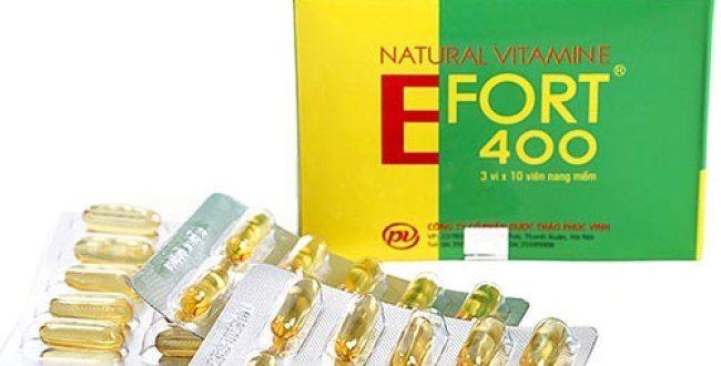 Thuốc efort 400 là thuốc gì? có tác dụng gì? giá bao nhiêu tiền?