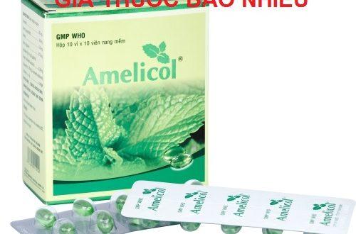 Thuốc amelicol 100 là thuốc gì? có tác dụng gì? giá bao nhiêu tiền?