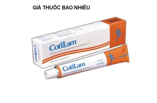 Thuốc cotilam 1g là thuốc gì? có tác dụng gì? giá bao nhiêu tiền?