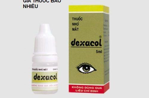 Thuốc dexacol 5ml là thuốc gì? có tác dụng gì? giá bao nhiêu tiền?