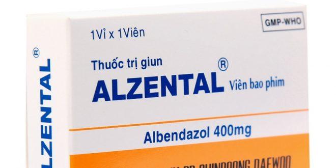 Thuốc alzental 400 là thuốc gì? có tác dụng gì? giá bao nhiêu tiền?