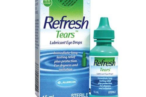 Thuốc refresh tear 15ml là thuốc gì? có tác dụng gì? giá bao nhiêu tiền?