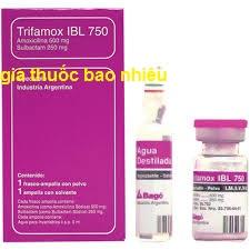 Thuốc Trifamox IBL 750 là thuốc gì? có tác dụng gì? giá bao nhiêu tiền?