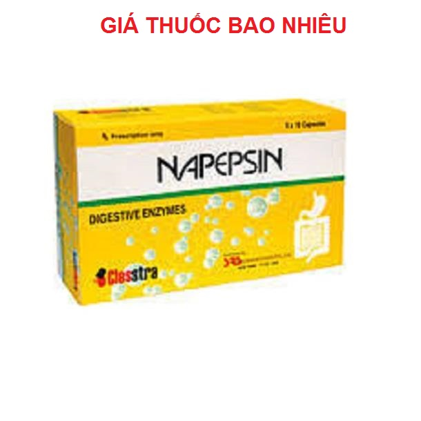 Thuốc napepsin là thuốc gì? có tác dụng gì? giá bao nhiêu tiền?