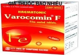 Thuốc varocomin f là thuốc gì? có tác dụng gì? giá bao nhiêu tiền?