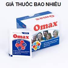 Thuốc omax là thuốc gì? có tác dụng gì? giá bao nhiêu tiền?