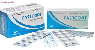Thuốc fastcort 16mg là thuốc gì? có tác dụng gì? giá bao nhiêu tiền?