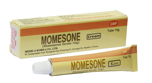 Thuốc momesone cream 10g là thuốc gì? có tác dụng gì? giá bao nhiêu tiền?