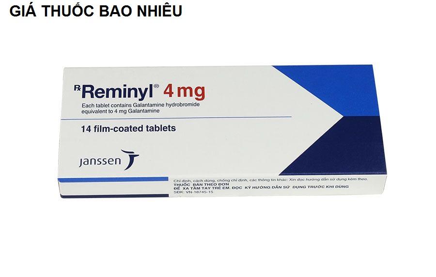 Thuốc reminyl 4mg là thuốc gì? có tác dụng gì? giá bao nhiêu tiền?