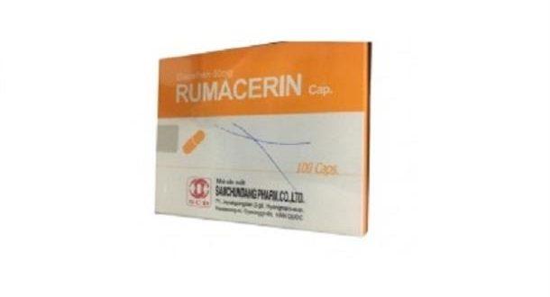 Thuốc rumacerin cap 50 là thuốc gì? có tác dụng gì? giá bao nhiêu tiền?