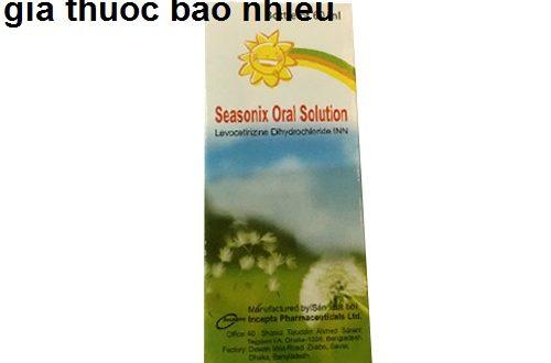 Thuốc Seasonix oral solution 60ml là thuốc gì? có tác dụng gì? giá bao nhiêu tiền?