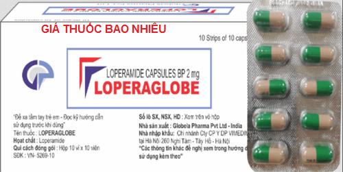Thuốc loperaglobe 2 là thuốc gì? có tác dụng gì? giá bao nhiêu tiền?