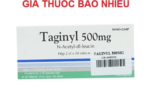 Thuốc taginyl 500 là thuốc gì? có tác dụng gì? giá bao nhiêu tiền?