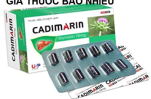 Thuốc cadimarin 70 là thuốc gì? có tác dụng gì? giá bao nhiêu tiền?