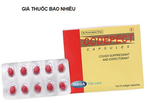 Thuốc codepect 100 là thuốc gì? có tác dụng gì? giá bao nhiêu tiền?