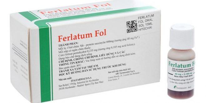 Thuốc ferlatum fol là thuốc gì? có tác dụng gì? giá bao nhiêu tiền?