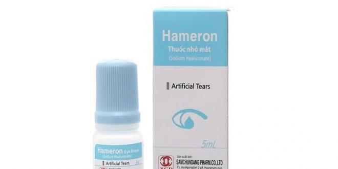 Thuốc Hameron Eye drops 5ml là thuốc gì? có tác dụng gì? giá bao nhiêu tiền?