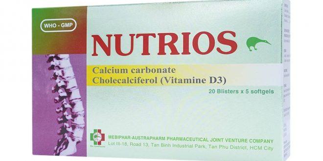 Thuốc nutrios 750 là thuốc gì? có tác dụng gì? giá bao nhiêu tiền?