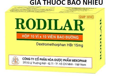 Thuốc rodilar 15 là thuốc gì? có tác dụng gì? giá bao nhiêu tiền?