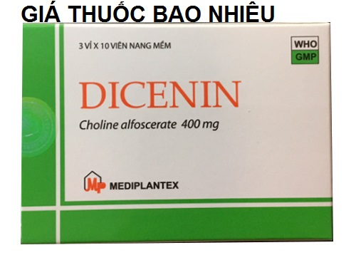 Thuốc dicenin 400 là thuốc gì? có tác dụng gì? giá bao nhiêu tiền?