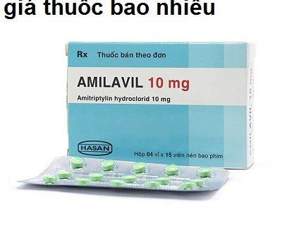 Thuốc amilavil 10mg là thuốc gì? có tác dụng gì? giá bao nhiêu tiền?