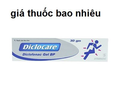 Thuốc diclocare 30g là thuốc gì? có tác dụng gì? giá bao nhiêu tiền?
