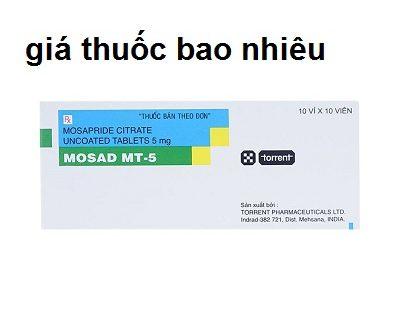 Thuốc Mosad MT 5 là thuốc gì? có tác dụng gì? giá bao nhiêu tiền?