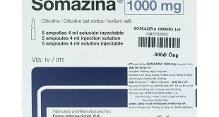 Thuốc somazina 1000 là thuốc gì? có tác dụng gì? giá bao nhiêu tiền?