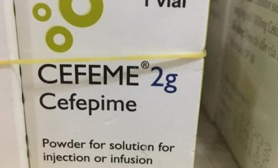 Thuốc cefeme 2g là thuốc gì? có tác dụng gì? giá bao nhiêu tiền?