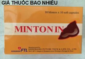 Thuốc mintonin 200 là thuốc gì? có tác dụng gì? giá bao nhiêu tiền?