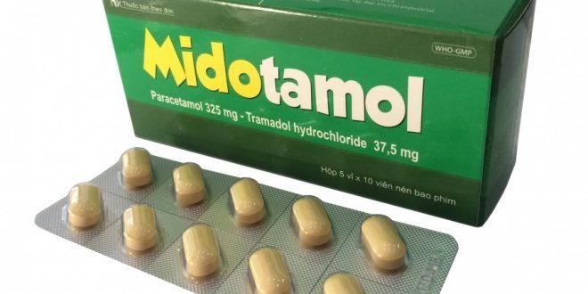 Thuốc midotamol 325 là thuốc gì? có tác dụng gì? giá bao nhiêu tiền?