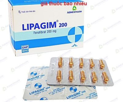 Thuốc lipagim 200 là thuốc gì? có tác dụng gì? giá bao nhiêu tiền?