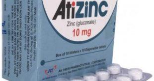 Thuốc atizinc 10mg là thuốc gì? có tác dụng gì? giá bao nhiêu tiền?