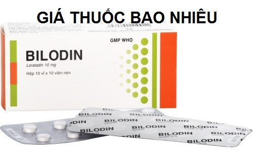 Thuốc bilodin bidiphar 10 là thuốc gì? có tác dụng gì? giá bao nhiêu tiền?