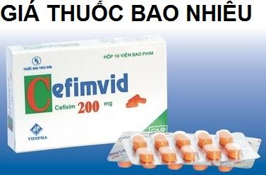Thuốc cefimvid 200 là thuốc gì? có tác dụng gì? giá bao nhiêu tiền?