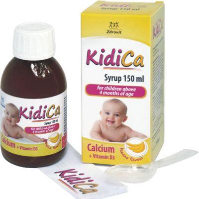 Kidica syrup 150ml là thuốc gì? có tác dụng gì? giá bao nhiêu tiền?